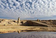 Free Sandstone Formations Near Eilat, Israel Stock Photos - 22200113