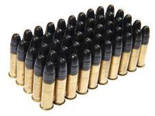 Free Group Of  Gun Cartridge. Royalty Free Stock Images - 22201249
