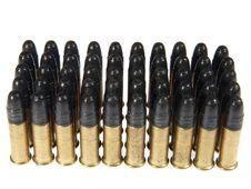 Free Group Of  Gun Cartridge. Stock Images - 22201254