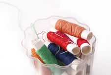 Free Sewing Threads Stock Photo - 22205550