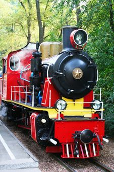 Free Puffer Train Royalty Free Stock Image - 22206316