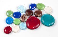 Free Decorative Glass Pebbles Stock Photo - 22209890
