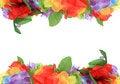 Free Flower Petal Frame Royalty Free Stock Images - 22215619