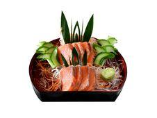 Salmon Sashimi Stock Images