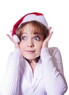 Free Christmas Girl Stock Photos - 22213623
