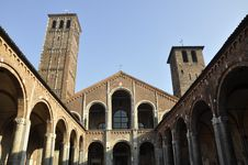 Free Milan Church Stock Images - 22214014