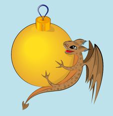Free New Year S Dragon Stock Images - 22214364