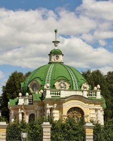 View Of The Grotto In Kuskovo Estate Stock Photo