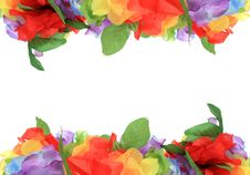 Free Flower Petal Frame Royalty Free Stock Images - 22215619