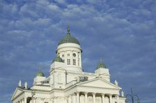 Free Helsinki Dome Royalty Free Stock Photography - 22216097