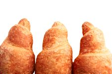Free Croissants The Isolated Stock Photo - 22217180