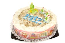 Free New Year S Cake Stock Image - 22218931