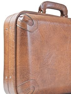 Free Old Leather Suitcase Stock Images - 22219424
