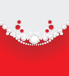 Free Diamonds And Strasses. Decorative Background Royalty Free Stock Images - 22219789