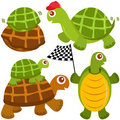 Free Cute Vector Collection Of Turtle, The Winne Stock Photography - 22226532