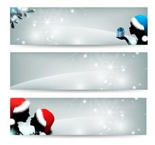 Free Set  Banners Stock Image - 22220861