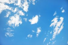 Free Clouds In The Sky Stock Image - 22227021