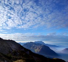 Free Stanserhorn Mountain In Afternoon Light Royalty Free Stock Photos - 22228428