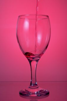 Free A Glass Of Wine. Stock Images - 22229054