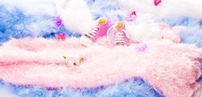 Free Baby Shoes Stock Photography - 22229182