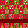 Free Christmas Ornament Seamless Pattern Greeting Card Stock Image - 22233421
