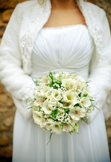 Free Bride S Bouquet Royalty Free Stock Photography - 22230277