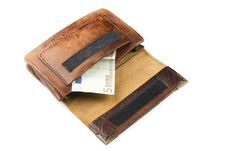 Free Wallet Royalty Free Stock Image - 22231236