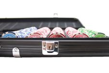 Free Poker Chips Royalty Free Stock Photo - 22231925