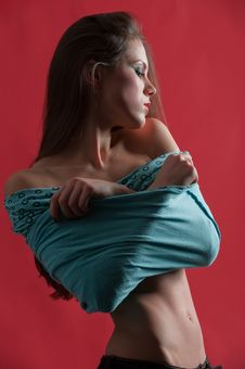 Free Curvy Model Stock Images - 22232154