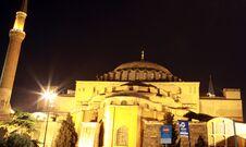 Free Hagia Sophia Church, Istanbul. Stock Images - 22235634