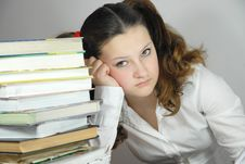 Free Schoolgirl Stock Images - 22235934