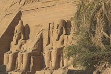 Abu Simbel Temple (Egypt) Stock Photo