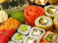 Free Traditional Japanese Sushi Royalty Free Stock Photos - 22240758