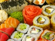 Free Traditional Japanese Sushi Royalty Free Stock Photos - 22240758