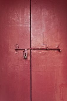 Free Red Door Royalty Free Stock Images - 22241889