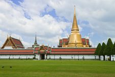 Free Wat Phra Kaew, Grand Palace Stock Photo - 22242080