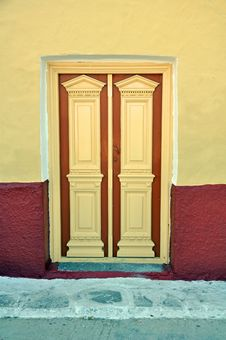 Free Mediterranean Door Royalty Free Stock Photos - 22243658