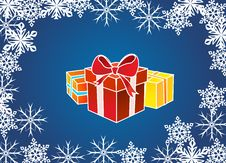 Free Present Box Royalty Free Stock Images - 22245399