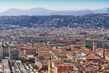 Historical Part Of Nice, France, Europe Royalty Free Stock Photography