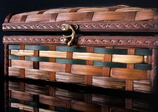 Free Colorful Wooden Jewelry Box Stock Photo - 22248970