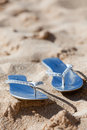 Free Sandals On The Beach Stock Photography - 22252882