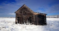 Free Winter Barn Stock Photos - 22251523