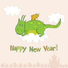 Free New Year S Greeting Card Stock Image - 22252661