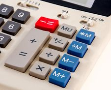Free Business Calculator Close-Up Stock Photo - 22253800