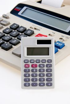 Free Business Calculator Close-Up Stock Photography - 22253802