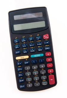 Hand Scientific Calculator Royalty Free Stock Image