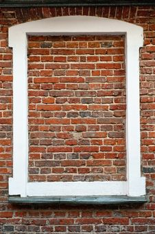 Free Bricked Window Royalty Free Stock Image - 22254046