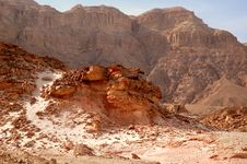 Free Timna Valley Royalty Free Stock Images - 22254589