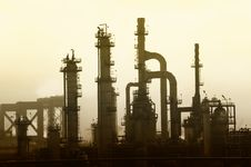 Free Oil Refinery Stock Image - 22255501