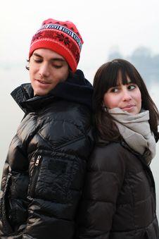 Free Winter Couple Stock Photo - 22259120